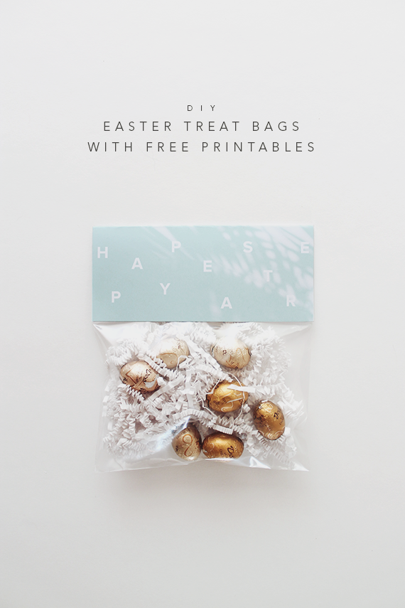 diy easter treat bags | almost makes perfect