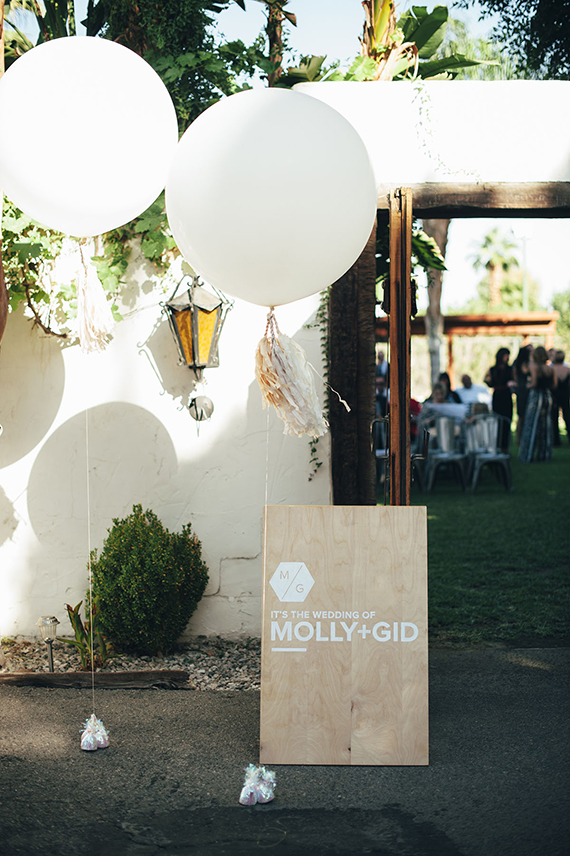 diy wedding signs  | almost makes perfect