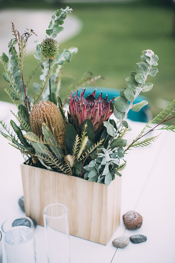 how we did our own wedding florals | almost makes perfect