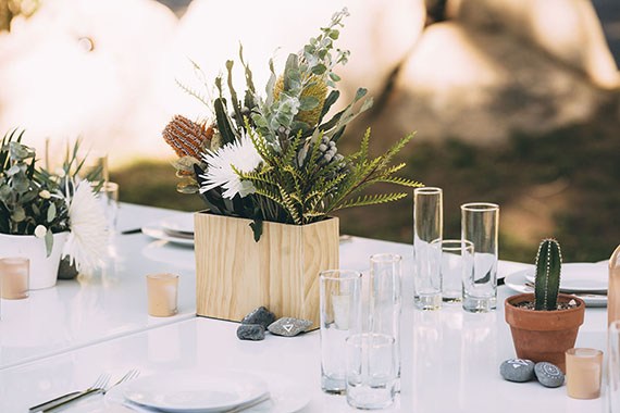 how we did our own wedding florals   almost makes perfect