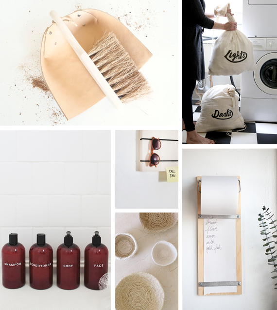6 spring cleaning + organizing DIYs   almost makes perfect