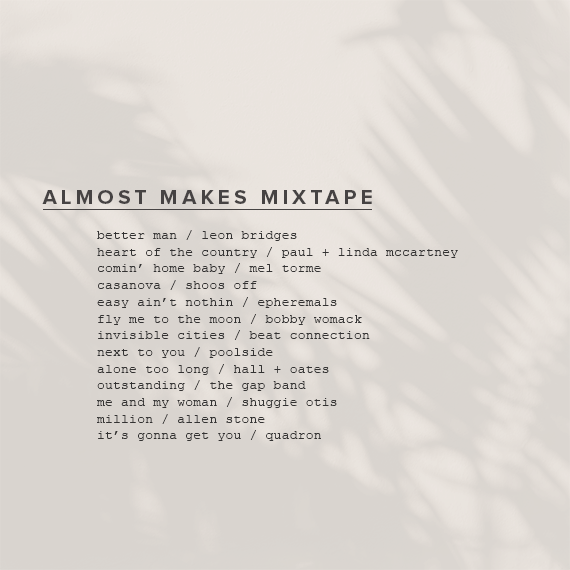 almost makes mixtape vol 17
