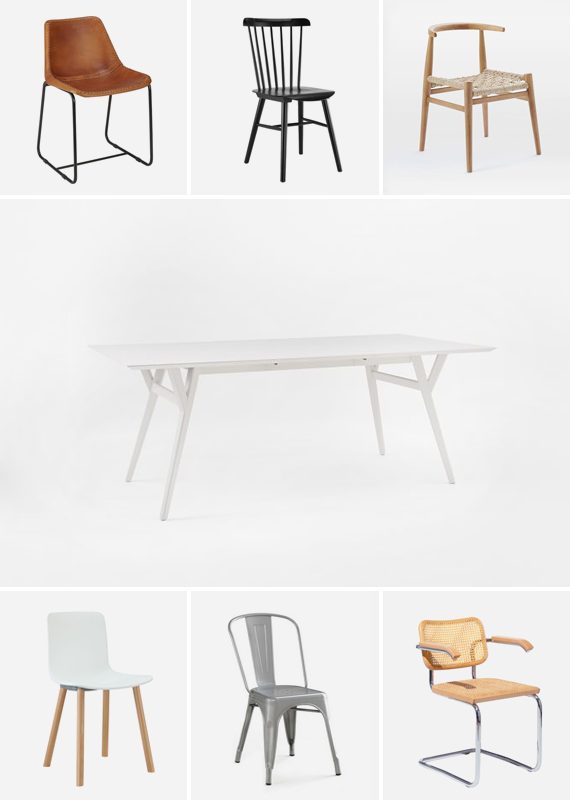 dining chairs | almost makes perfect