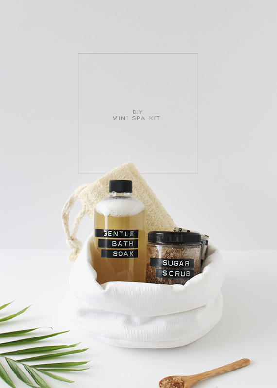 diy mini spa kit | almost makes perfect