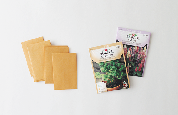 diy seed packets | almost makes perfect