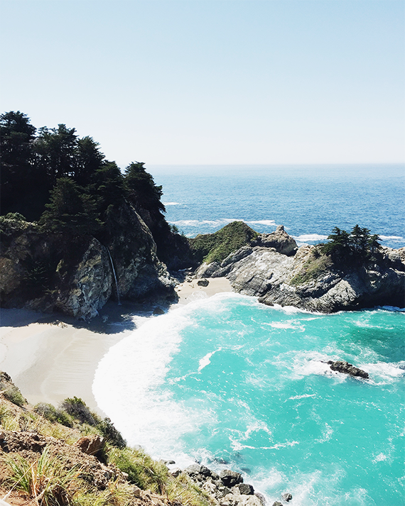 mcway falls in big sur | almost makes perfect