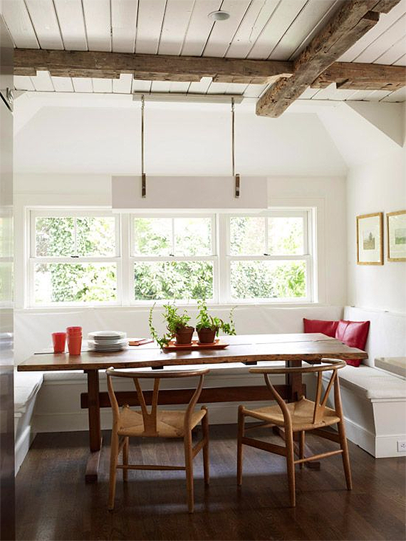 dream house - the breakfast nook   almost makes perfect