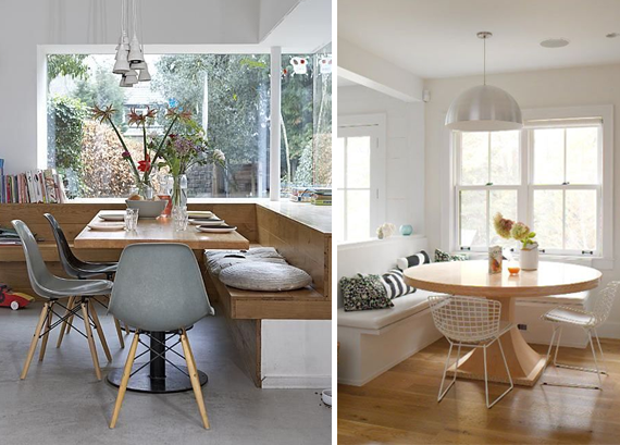 dream house ~ the breakfast nook  | almost makes perfect