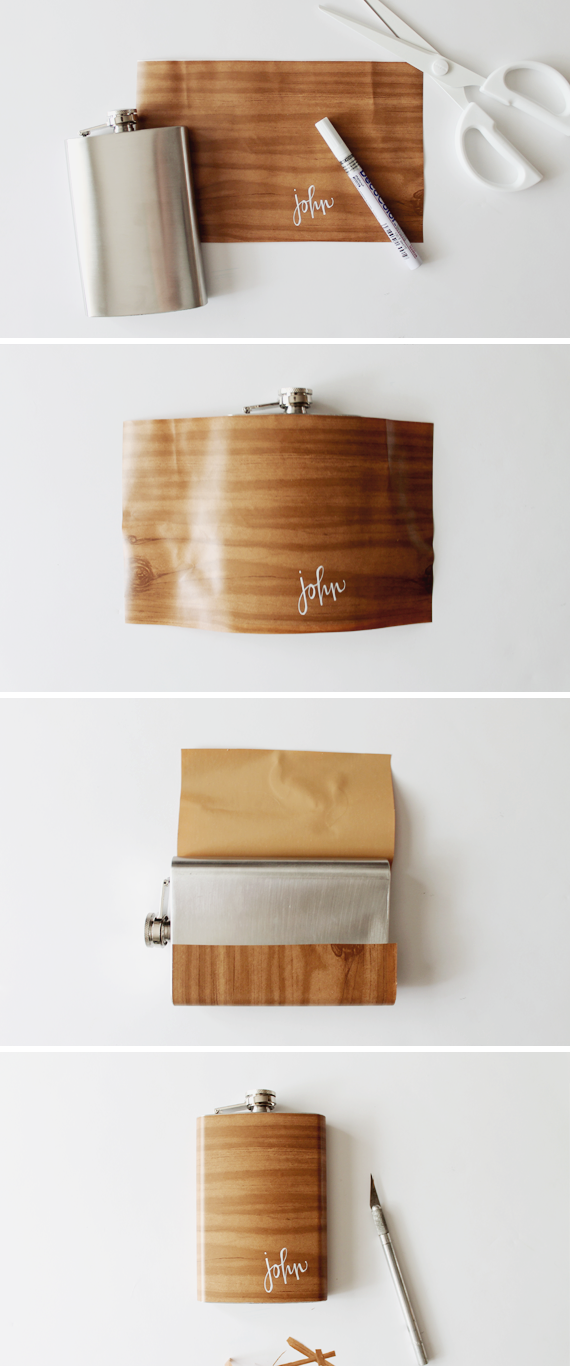 how to make a wood grain flask   almost makes perfect