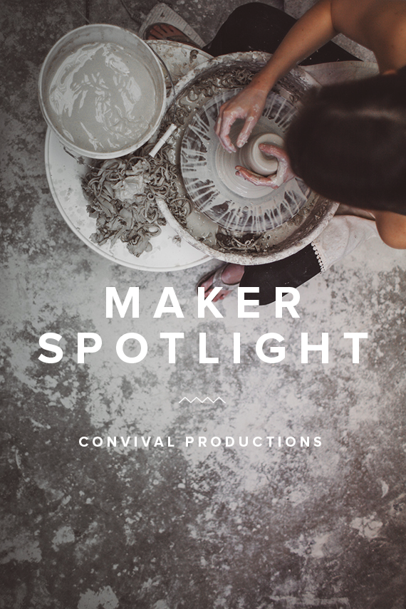 maker spotlight ~ convivial productions | almost makes perfect