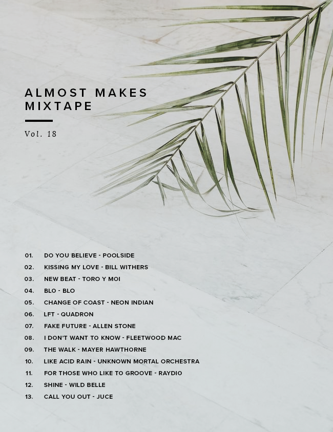 almost makes mixtape | vol 18