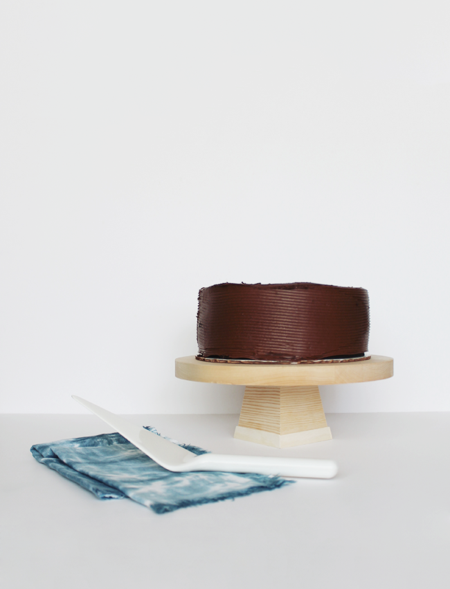 diy wood cake stand | almost makes perfect