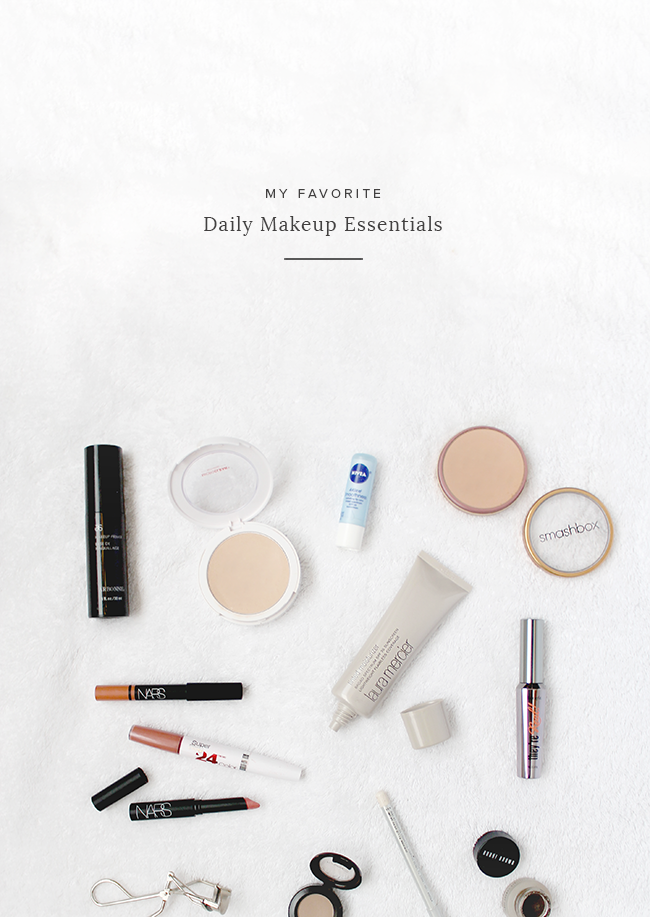 my favorite daily makeup essentials | almost makes perfect