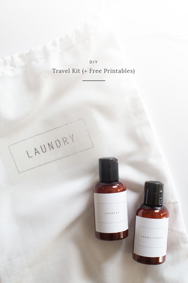 DIY travel kit | almost makes perfect