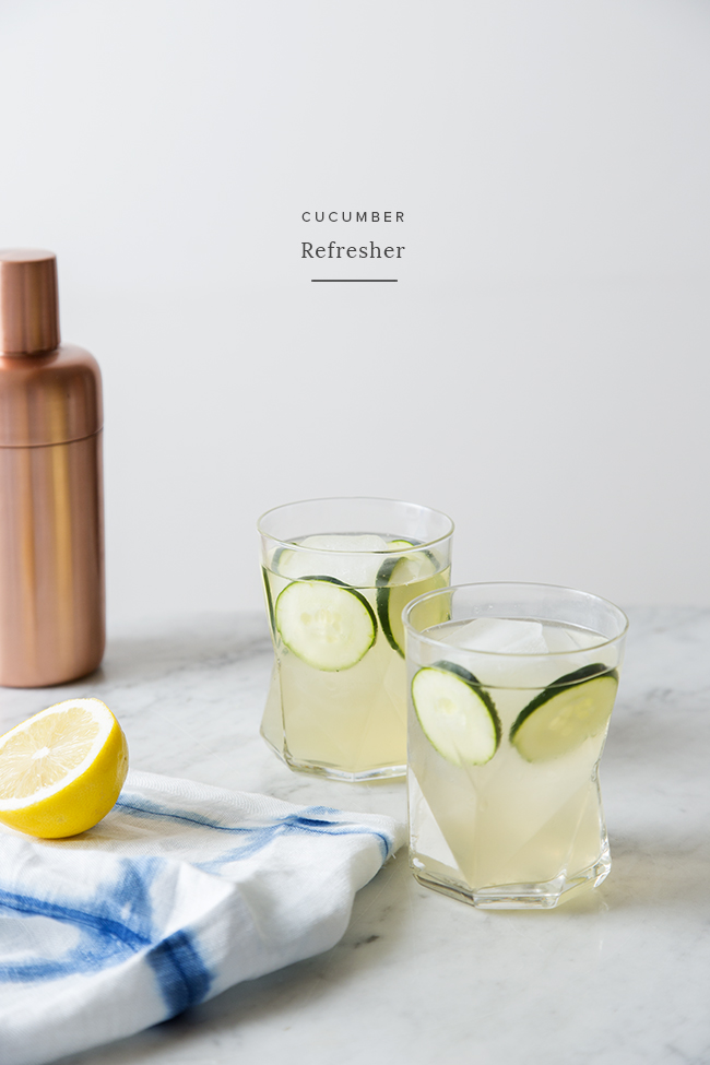 cucumber refresher | almost makes perfect
