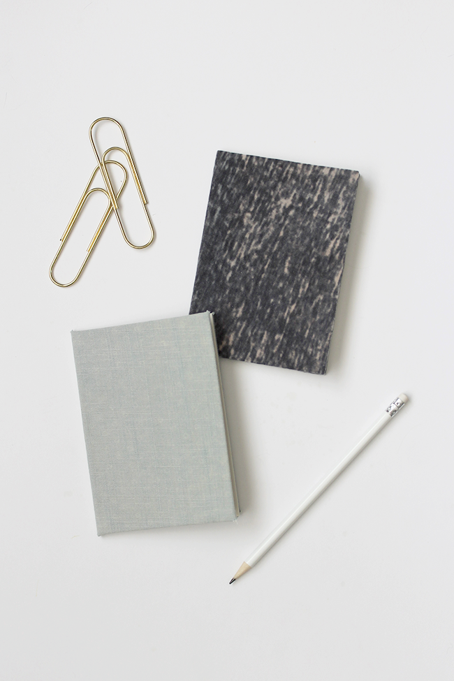 diy fabric notebooks | almost makes perfect