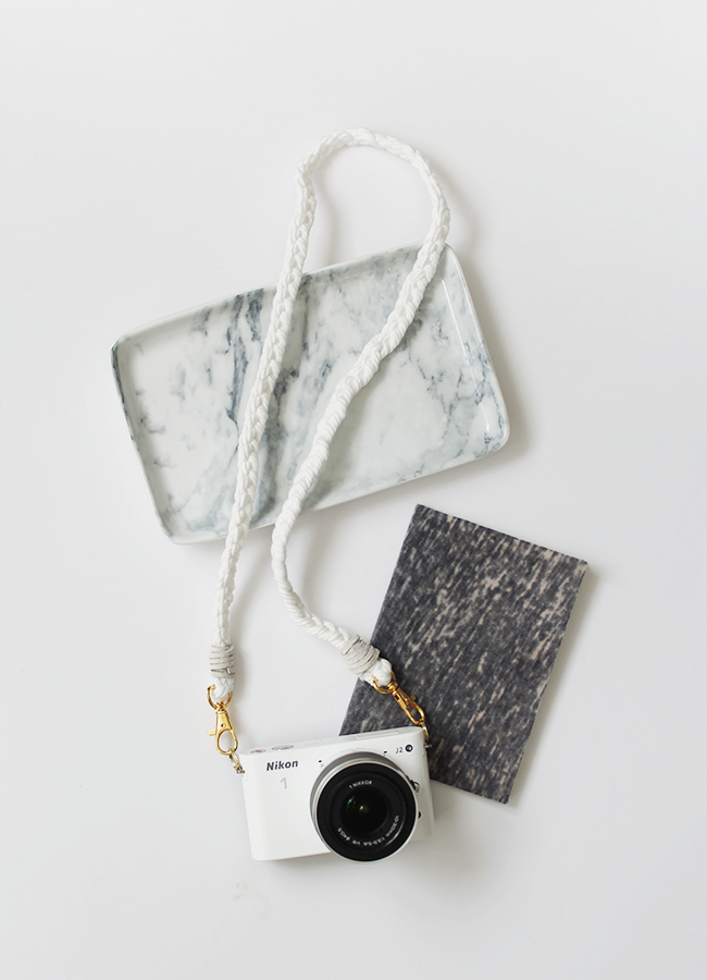 diy braided camera strap || almost makes perfect