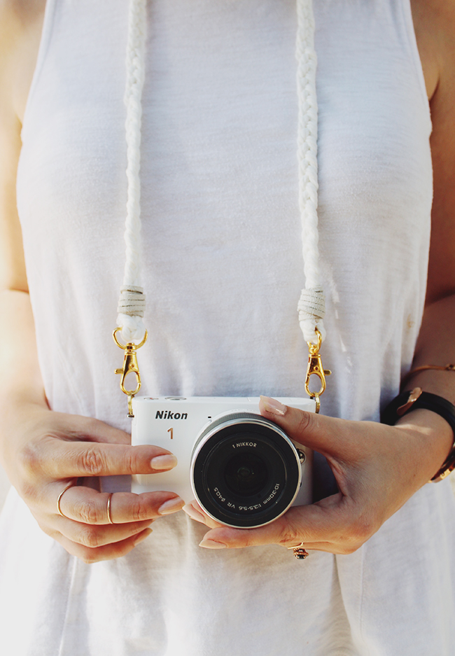 diy braided camera strap | almost makes perfect