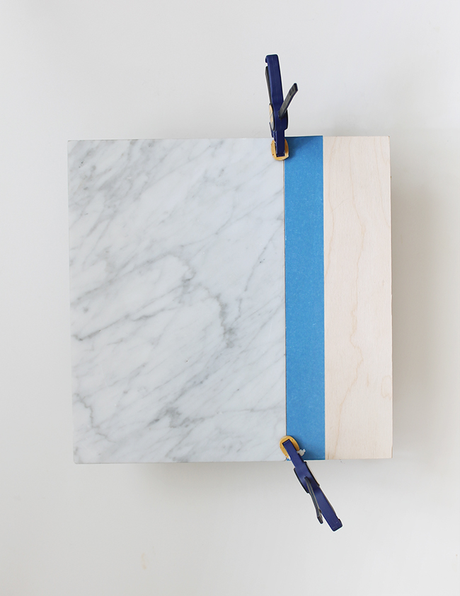 diy marble and wood serving platter   almost makes perfect