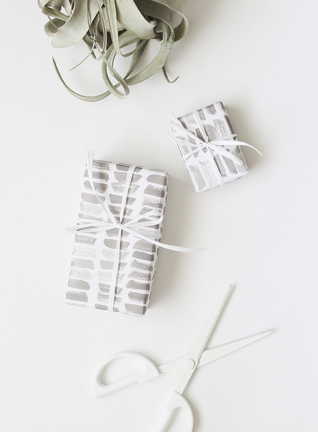 printable watercolor stroke gift wrap   almost makes perfect