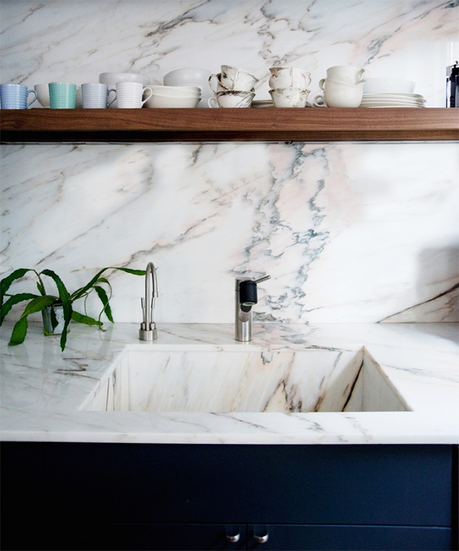 dream house | marble counters | almost makes perfect