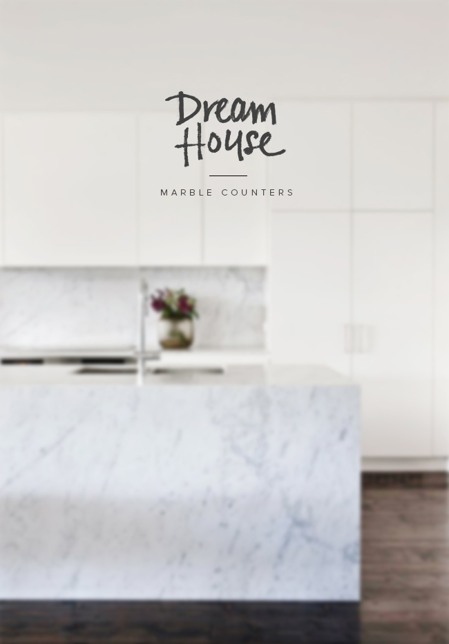 dream house | marble countertops | almost makes perfect