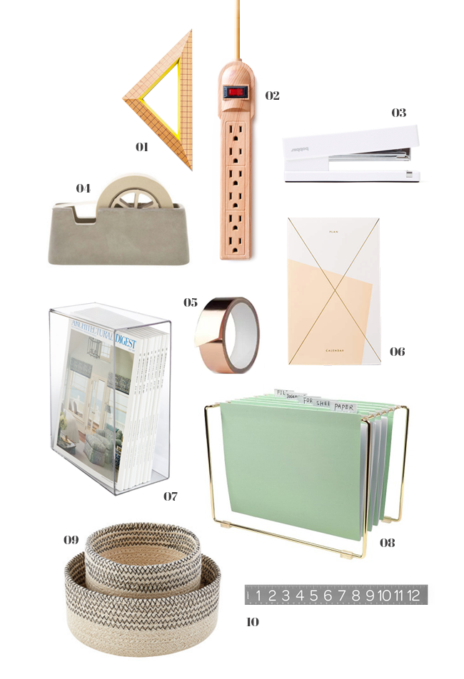 all things pretty : office supplies - almost makes perfect