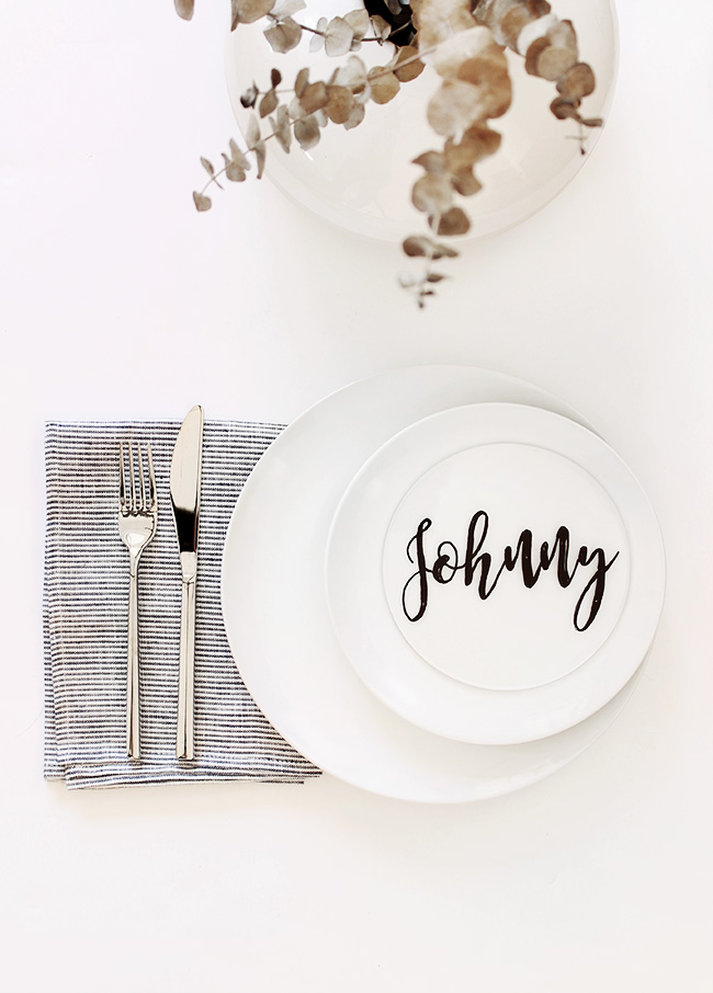 diy plexiglass placecards   almost makes perfect