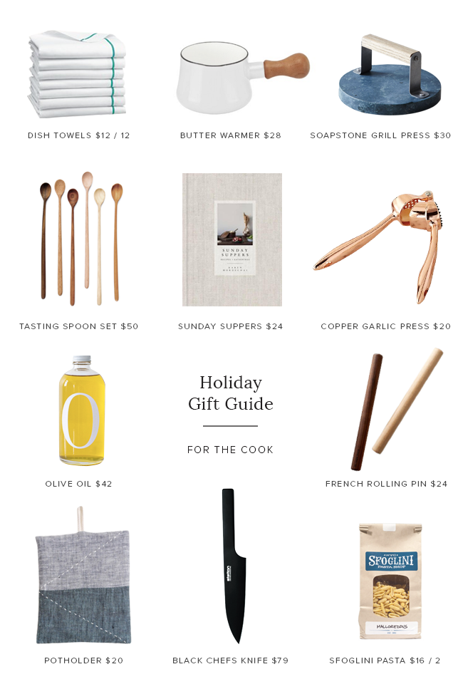holiday gift guide for the cook | almost makes perfect