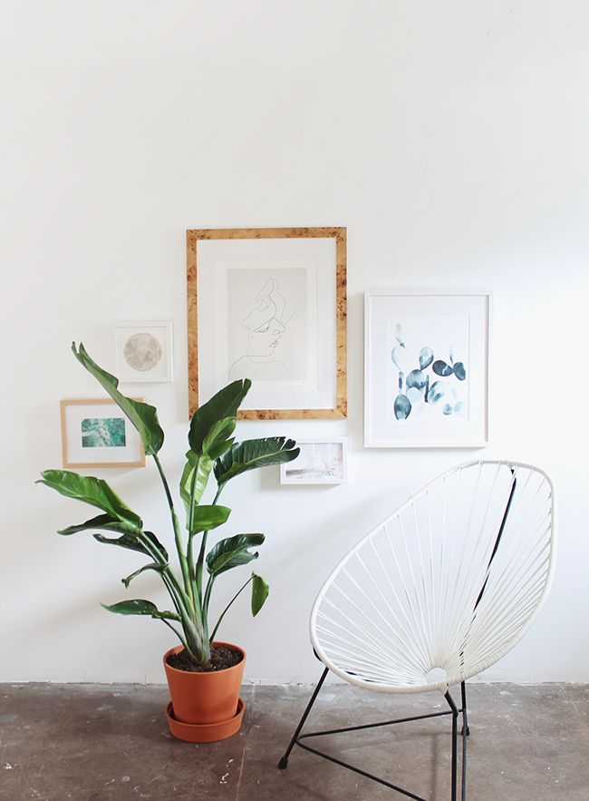 tips for creating the easiest gallery wall ever | almost makes perfect
