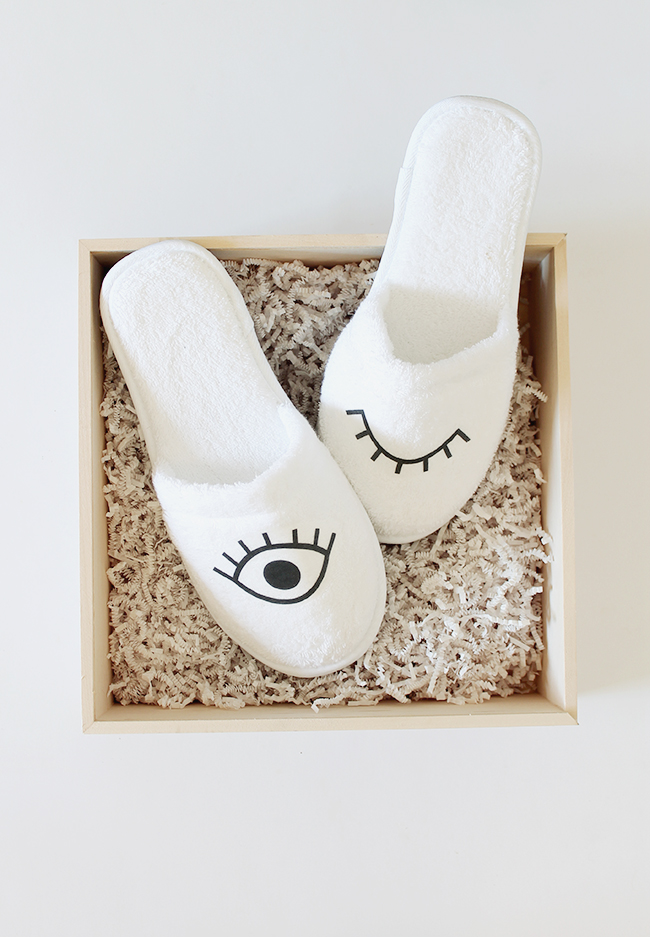 diy eye slippers   almost makes perfect