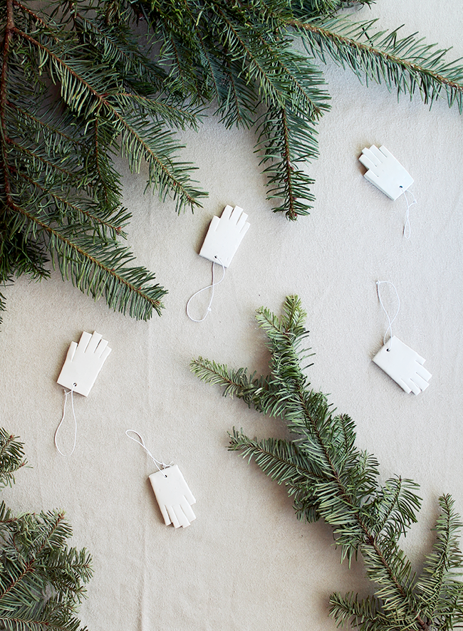 diy mini hand ornaments | almost makes perfect