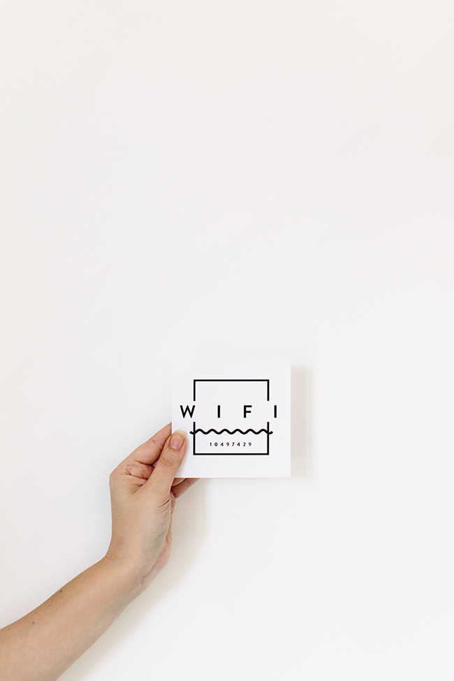 printable wifi card | almost makes perfect