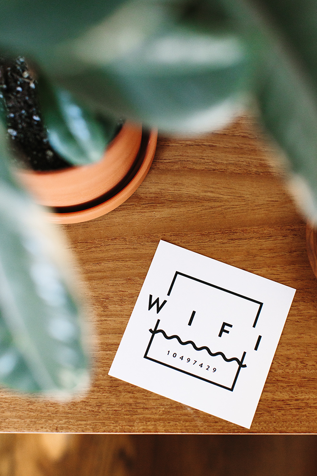 printable wifi guest card | almost makes perfect copy